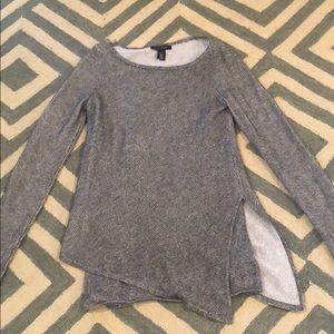White House Black Market Black sweater
